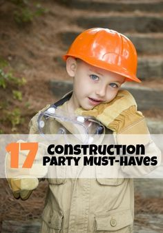 Construction Themed Party Supplies
