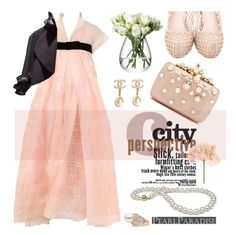 """""""Pearly chic"""" by pensivepeacock ❤ liked on Polyvore featuring Sia, LSA International, Miu Miu, Chanel, Elie Saab and pearljewelry"""