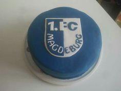 1.FCM Magdeburg Fußball Torte