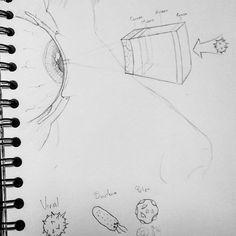 #Boceto para el diario  #Infografía #Design #Diseño #sketch #Gato #Chat #Galleta #Cookies #Render #neko #D&D #DnD #infographic #Graphic