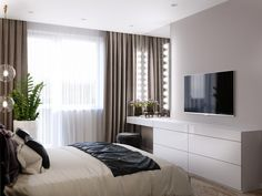 Bedroom ideas for modern to rustic schemes. Tips and tricks for creating a master bedroom decor. Modern Bedroom Design, Home Room Design, Master Bedroom Design, Home Interior Design, Interior Livingroom, Contemporary Bedroom, House Design, Small Room Bedroom, Home Decor Bedroom