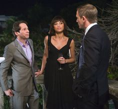 Quantum of Solace  2008 Dominic Greene (Mathieu Amalric), Olga Kurylenko - Camille, James Bond Daniel Craig