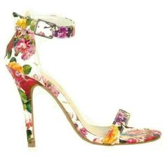 Floral print high heels Stylish Clothing & Accessories for $29 & under! - LoveTheEasyLife