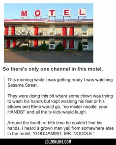 So There's Only One Channel In This Motel