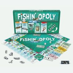 Late for the Sky Fishing - Opoly Traditional Property Trading Game LATEFISHING