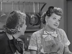 Ethel: Lucy, how do you think up all these wonderful things?