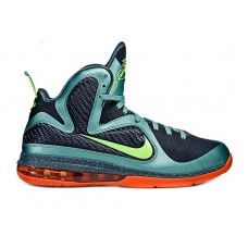 best website 71f43 f940f Nike Lebron 9 cannon cannon volt slate blue tm orng 469764-004 for sale