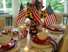 The Patriotic Table / 4th of July Table ...