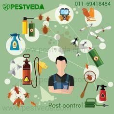 Well Managed #Pestcontrol Service is just a call away. Ring us on - 011 69418484 Visit- www.pestveda.com #pestcontrol #pestcure