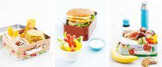Meriendas deliciosas.  Lunch boxes.    MATPAKKETIPS |BLAFRE