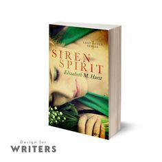 """One of our most recent books, Siren Spirit by Elizabeth Hurst. Liz was over the moon with her cover:  """"Design for Writers have been a pleasure to work with. Prompt responses every time, and the attention to detail is second to none. Thank you so much."""" Oct now pretty much booked solid & November's filling up fast so if you're interested in book design or a shiny new website for Christmas (yes, we said the 'C' word!) drop a quick email hello@designforwriters.com. We'd love to hear from you!"""