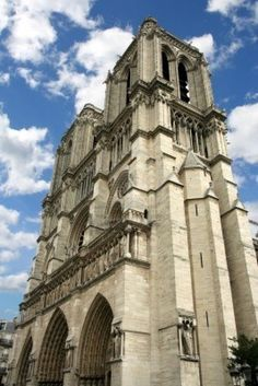 Notre Dame- the other half of our 4 hours in Paris :)
