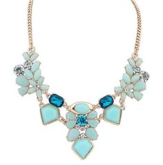 New Arrival Resin Fashion Colorful Cute Charm Gem Flower Necklaces & Pendants Fashion Jewelry Woman Gift Summer style