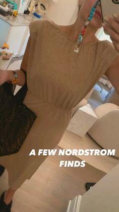 Nordstrom Finds - Lunchpails and Lipstick Lunchpails And Lipstick, Mid Length Dresses, Midi Dresses, Print Patterns, Shoulder Dress, Nordstrom, Shirt Dress, Fashion, Midi Length Dresses