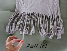 Easy-peasy teen DIY/fashion project right here. Fringe4 by lakelandlocal, via Flickr