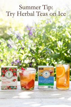 Keep it cool this summer while supporting your health with our favorite herbal teas on ice. Refreshingly delicious, each blend is filled with wellness benefits--thanks to the powerful plants we use to craft each tea. Discover how you can put a new spin on your summer refreshment routine.