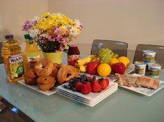 Last- Minute Continental Breakfast for 12 | Continental breakfast ...