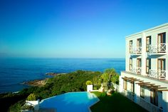The Marine Hotel & Spa in Hermanus, Western Cape, is regarded as one of the most extraordinary seaside properties in the Relais & Chateaux group. Ansel Adams, Places To Travel, Places To See, Beautiful World, Beautiful Places, Amazing Places, Places Around The World, Around The Worlds, Clifton Beach
