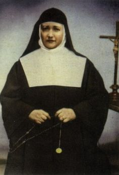 One of the many martyrs of the religious by the left during the Spanish Civil War Blessed María Guadalupe Ricart