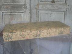 antieke franse stoffen doos