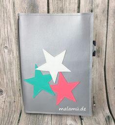 Notizhefthüllen aus Kunstleder - HoT, selbstgenäht, Fauxidori, malamü