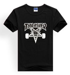 b05dee22e36 Thrasher t shirts thrasher magazine skate tshirt thrasher flame fire skate  t-shirt trasher t shirt brand clothing