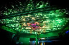 LED Lichtshow im QSIX Main Burgkunstadt Club Disco