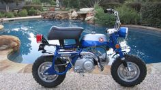Beautiful Honda Z50 Motorcycle... Wish mine had looked this good! I learned how to ride on one of these in the early 70's!