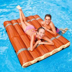 Relax and enjoy the sun on an inflatable raft, foam raft, spring float raft, pool tube or pool lounge chair. Shop ToySplash for a huge selection of pool rafts and lounges! Water Floaties, Pool Rafts, Rafting, Stock Pools, Floating Raft, Yacht Week, Pool Lounge, Pool Accessories, Pool Floats