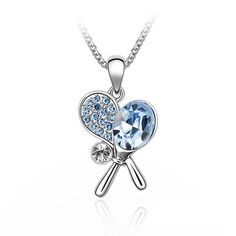 Tennis Partner Austrian Crystal Necklace | LilyFair Jewelry, $29.99!