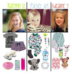"""""""Dream Family//Bedtime!!"""" by ellerlou ❤ liked on Polyvore featuring CamelBak, Deux Par Deux, Lambs and Ivy, Casetify, ThinkGeek and Fat Face"""