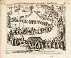 Alexander Farnese (de hertog van Parma) - begrafenis van Farnese, hertog van Parma en Piacenza te Brussel in 1592.