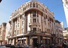Casablanca, Art Deco Buildings, Belle Villa, Colonial Architecture, North Africa, Multi Story Building, City, Silhouettes, Google Search