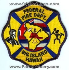 Hawaii Fire, Fire Fighters, Firemen, Big Island Hawaii, Firefighting, Crests, Decals, Patches, Company Logo