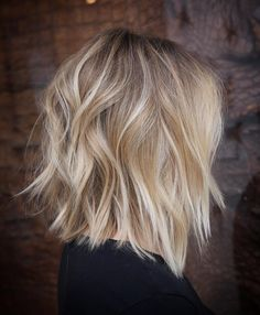 Choppy Bronde Lob length hair styles for thick hair messy bob 60 Messy Bob Hairstyles for Your Trendy Casual Looks Messy Bob Hairstyles, Lob Hairstyle, Older Women Hairstyles, Hairstyle Ideas, Blonde Haircuts, Casual Hairstyles, Blonde Lob Hair, Blonde Hair Over 40, Neck Length Hairstyles