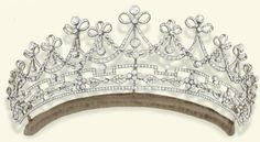 Formerly the property of Lady Emilie Harmsworth, this is a Belle Époque Diamond tiara (c. 1905).