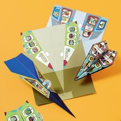 Paper Airplanes Kit in Arts & Crafts | The Land of Nod