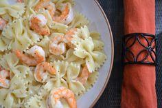 Shrimp Bow Tie Pasta with Lemon Butter Sauce