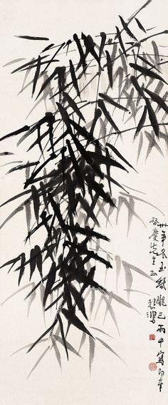 xu beihong | Xu Beihong's Bamboo | Chinese Painting | China Online Museum