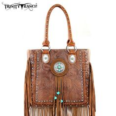 Caracol - Inspired Jewelry and Handbags - Leather Fringe Design Handbag | Montana West, $79.00 (http://www.caracolsilver.com/leather-fringe-design-handbag-montana-west/)