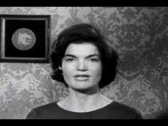 1960 - Jackie Kennedy speaking Spanish for a ad for JFK for president.