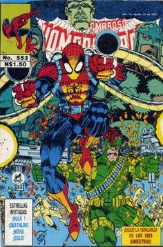 Cover for El Asombroso Hombre Araña (Novedades 1980 serie) #553 - Juin 1993