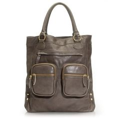 J Crew Leather Tote Bag Used, but excellent condition. J. Crew Bags Totes