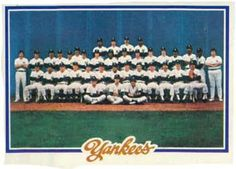 1978 baseball cards yankees tc  NR-MT Have 1 for sell/trade