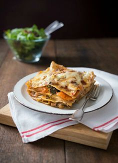 Thermomix Vegetable Lasagne - packed full of delicious veggies, it makes a comforting mid week meal or a delicious winter bake to have by the fire with friends. Fun Easy Recipes, Light Recipes, Vegetable Lasagne, Canning Whole Tomatoes, Lasagne Recipes, Lemon Pasta, Fajita Recipe, Macaroni Cheese, Base Foods