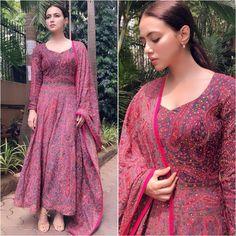 Party Outfit Casual Dress Classy Ideas For 2019 Anarkali Dress, Pakistani Dresses, Indian Dresses, Indian Outfits, Anarkali Suits, Punjabi Suits, Lehenga, Sarees, Kurta Designs