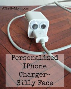 Personalized iphone charger