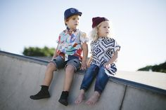 Hat Harvest 2015 #alfiechildrensapparel #partyshirt #shakerattleandroll #truckercap #converse #skatebowl #kidsfashion Photography by Jenna Agius