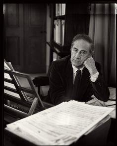Gian Carlo Menotti (1911 – 2007) was an Italian-American composer and librettist. Although he often referred to himself as an American composer, he kept his Italian citizenship. He wrote the classic Christmas opera Amahl and the Night Visitors, along with over two dozen other operas intended to appeal to popular taste. He won a Pulitzer Prize twice, for The Consul (1950) and for The Saint of Bleecker Street (1955).