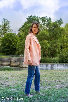 Café Chiffons: Ma veste printanière Aime comme Montmartre